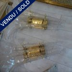 Murano Set of 4 sconces - SOLD