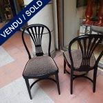 Ref : MC754 - Série de 4 chaises THONET - VENDU