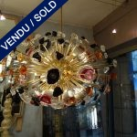 Multicolored chandelier Murano - SOLD