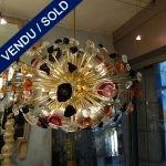 Lustre multicolore Murano - VENDU