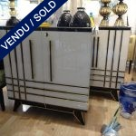 Ref : M208 - Pair of mirror sideboards - SOLD