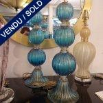 Ref : LL218 - Murano bleu - VENDU