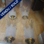 Ref : LA204 - Murano 2 paires - VENDU