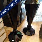 Ref : V262 - Murano noir - VENDU