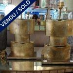 Ref : LL224  - Murano doré - VENDU