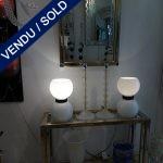 Ref : 15  - Console + miroir - VENDU