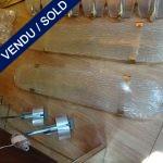 Ref : LA207 - Suite 4 appliques verre de Murano - VENDU