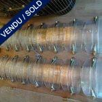Ref : LA208  - Paire d'appliques Verre de Murano - SOLD