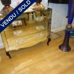 Mirror, handles Murano - SOLD