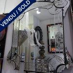 Ref : MI952  - Venetian mirror - SOLD