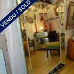 Paire de miroirs des années 40 de Murano - VENDU
