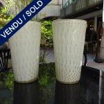 Ref : V265  - Paire Murano - VENDU