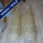 Ref : LA209  - Paire d'appliques Verre de Murano - VENDU