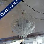 Ref : L934 - Lustre Murano 15 feuilles - VENDU