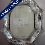 Ref AD35 - Photo frame Murano - SOLD