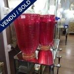 """Ref : V272  - Murano signé """"TOSO"""" - VENDU"""