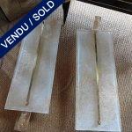 Ref : LA216 - Murano et laiton - VENDU