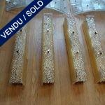Ref : LA217  - Murano et laiton - VENDU