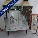 Ref : M222  - Petit buffet tout miroir - VENDU
