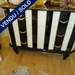 Commode 3 drawers, mirror - SOLD