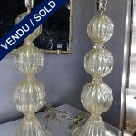 Ref : LL954  - Pair of Murano signed - SOLD