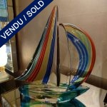 Ref AD40 - Voilier signé - Murano - SOLD