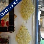 Ref : LA220 - Paire d'appliques Murano - VENDU