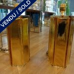 Ref : LL956 - Paire de lampes Murano - SOLD