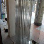 Ref : LL0958 - Paire de lampadaires en verre de Murano