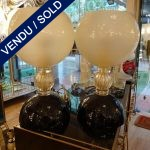 Ref : LL960  - Pair of Murano - SOLD