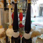 Ref : LL0963 - Paire de lampes Murano