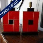 Ref : LL976 - Paire Verre teinté - SOLD
