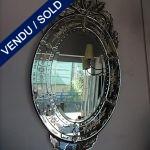 Ref : MI962 - Miroir Style Vénitien - SOLD