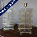 Ref : LL978  - Paire Murano - SOLD