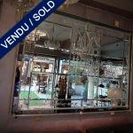 Ref : MI966 - Mirror and glass of Murano - SOLD