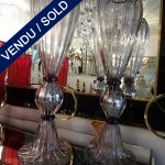 Ref : V283  - Paire Murano - VENDU