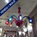 Ref : L945 - Murano multicolore - SOLD