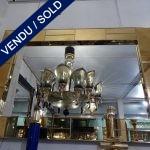 Ref : MI969  - Golden mirror - SOLD