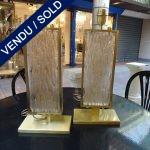 Ref : LL992 - Murano et métal - SOLD