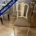 Ref: MC301  - 6 chaises Parfait état - VENDU