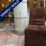 8 chaises pliantes avec leur housse - VENDU