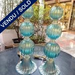 Ref : LL999 - Paire Murano signée TOSO - SOLD