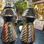 Ref : LL306 - Paire miroir et Murano