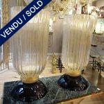 Ref : V289  - Paire Murano - VENDU