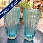 Ref : V291  - Paire Murano - VENDU