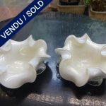 Ref AD63  - Pair of Murano signed TOSO - SOLD