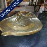 Ref AD67 - Verre de Murano signé TOSO - VENDU