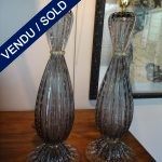 Ref : LL310  - Pair of Murano signed TOSO - SOLD