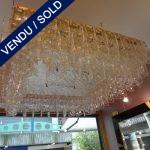 """Un lustre de """"Salviati"""" - VENDU"""