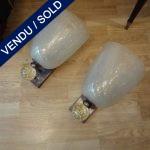 Ref : LA103 - Murano Set of 4 sconces - SOLD